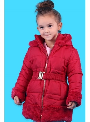 Red - Girls` Jacket - Breeze Girls&Boys