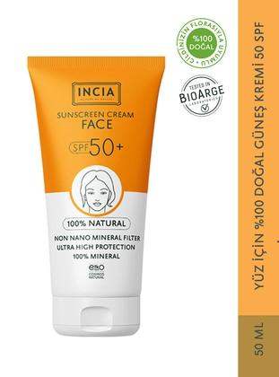 Face 100% Natural Sun Cream 50 SPF 50 ml