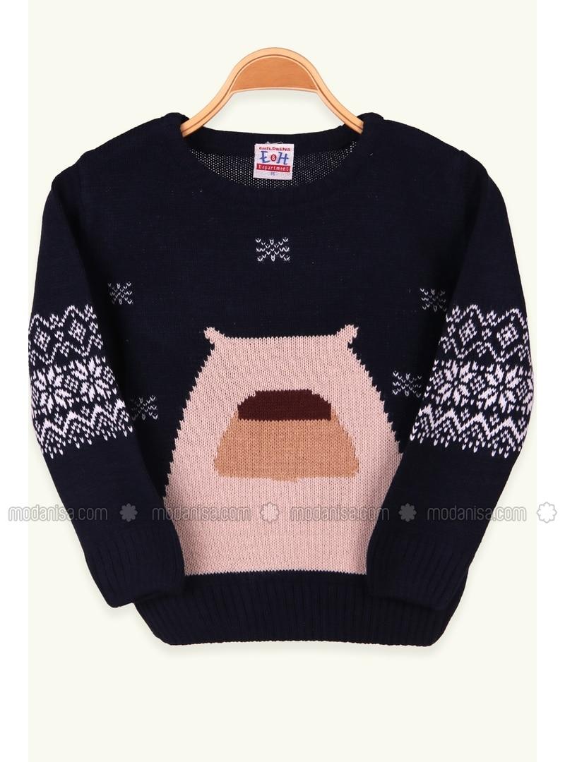 Navy Blue - Baby Sweatshirts