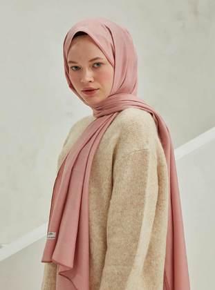 Dusty Rose - Pink - Plain - Shawl