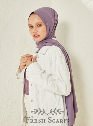 Lilac - Plain - Shawl