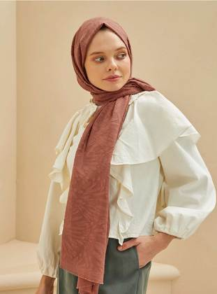 Dusty Rose - Plain - Shawl