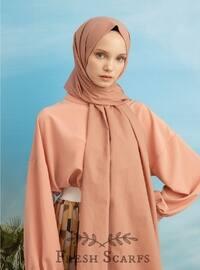 Pink - Plain - Shawl
