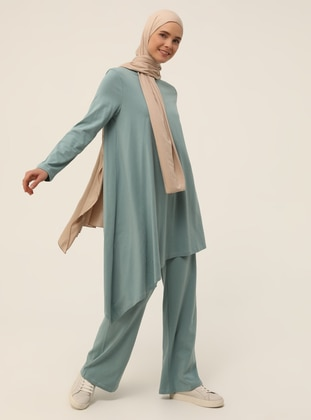 Green Almond - Unlined - Suit