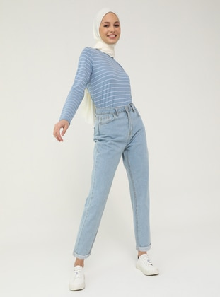 Natural Fabric Jeans