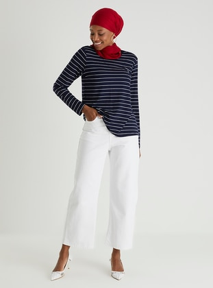White - Pants - Casual