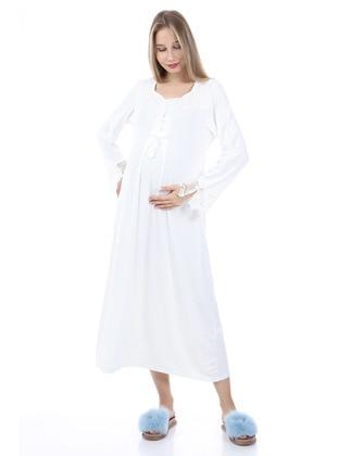 Ecru - Maternity Pyjamas