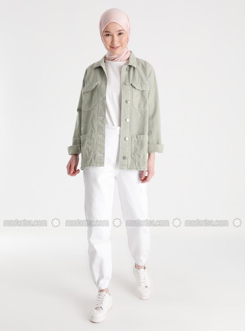 White - Ecru - Pants
