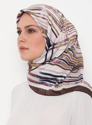 Powder - Stone - Printed - Scarf