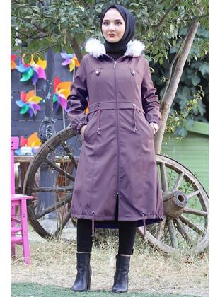 Lilac - Puffer Jackets - MISSVALLE