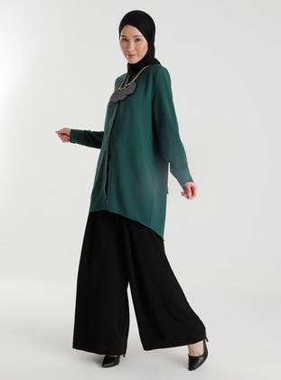 Ribbon Belt Aerobin Trousers Skirt - Black - Woman