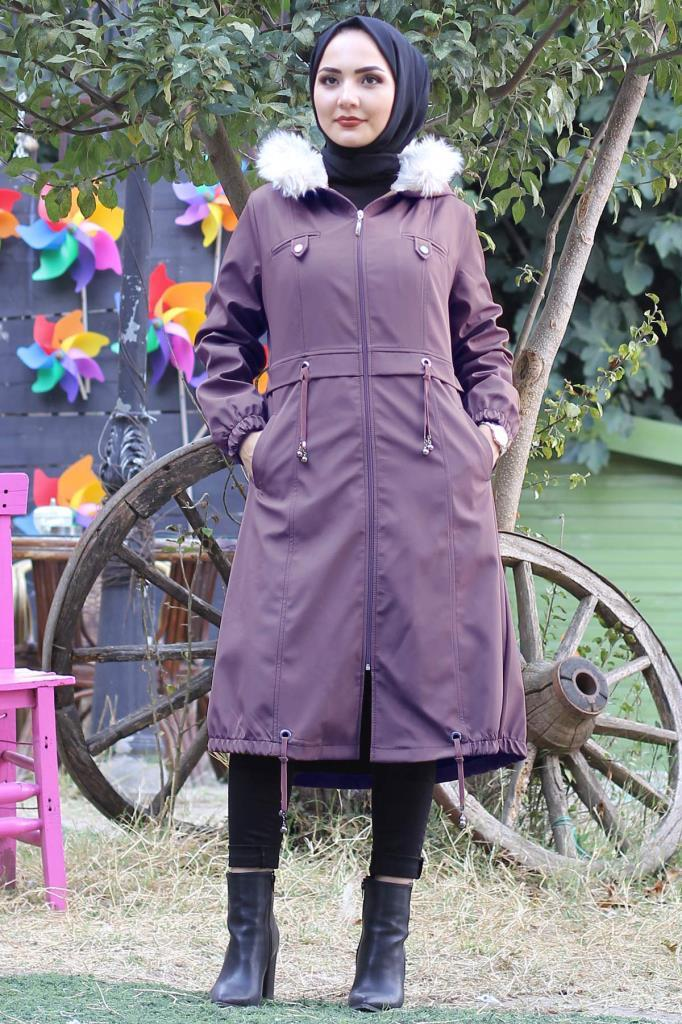 Puffer Jackets MISSVALLE Lilac