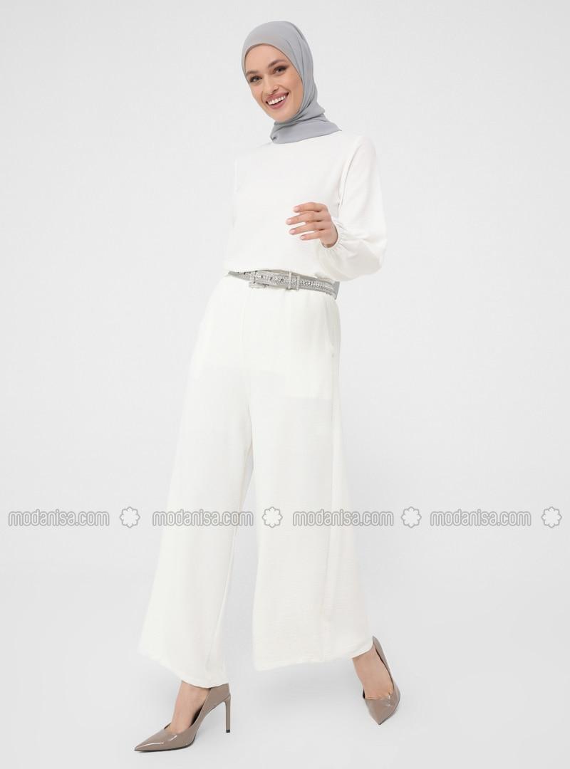 Ecru - Culottes - Woman