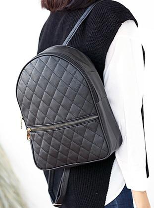 Black - Backpack - Backpacks - WMİLANO