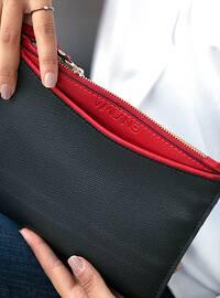 Red - Black - Clutch - Shoulder Bags