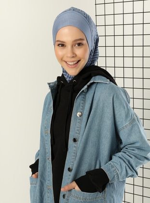 Blue - Simple - Sports Bonnet