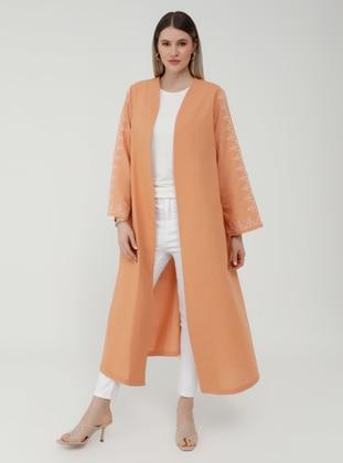Caramel - Unlined - Plus Size Coat