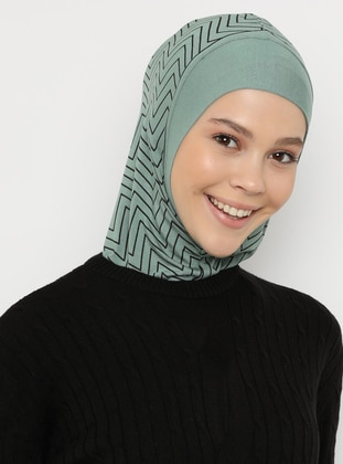 Green Almond - Simple - Sports Bonnet