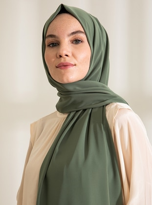 Green - Plain - Shawl