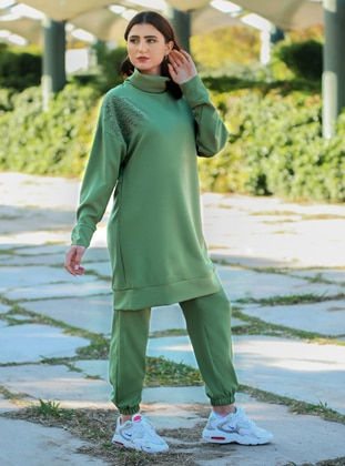 Green - Unlined - Suit
