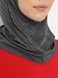 Gray - Simple - Bonnet