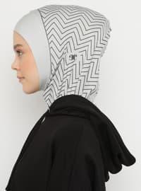 Gray - Simple - Sports Bonnet