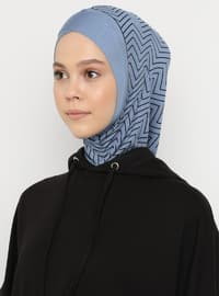 Blue - Sports Bonnet