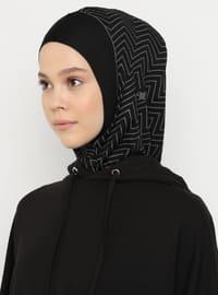 Black - Simple - Sports Bonnet
