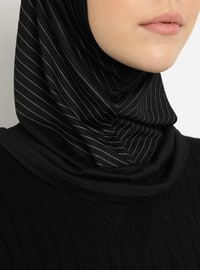 Black - Sports Bonnet
