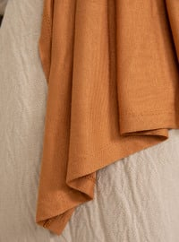 Mustard - Plain - Shawl