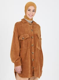 Camel - Point Collar - Topcoat
