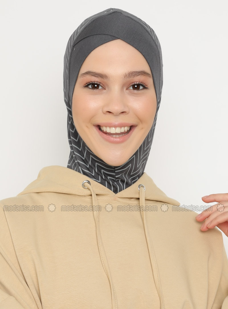 Gray - Sports Bonnet