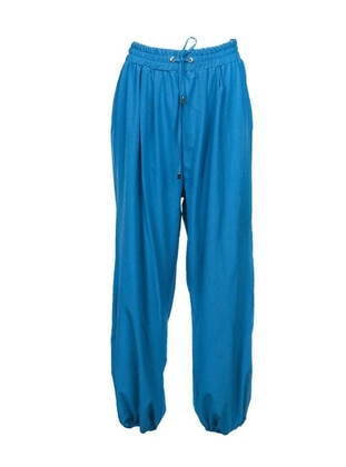 Blue - Turquoise - Pants