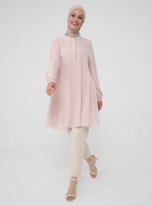 Neppy Relax Fit Tunic - Deep Pink - Woman