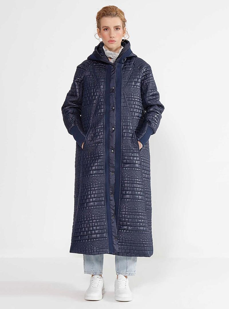 Puffer Jackets MANİLA Navy Blue