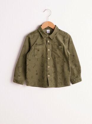 Khaki - baby shirts