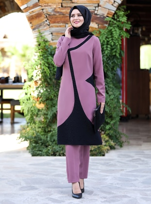 Lilac - Unlined - Suit