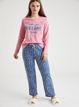 Blue - Pyjama - DeFacto