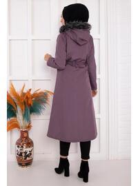 Lilac - Puffer Jackets
