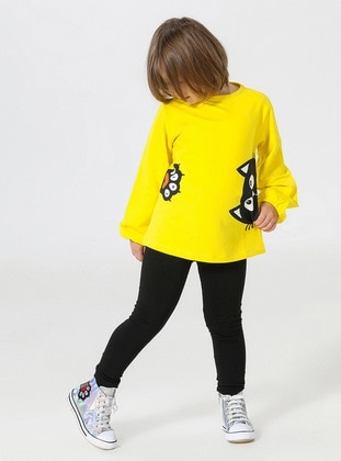 Multi - Crew neck - Multi - Girls` Suit