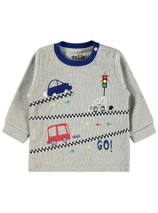 Gray - Baby Sweatshirts - Civil