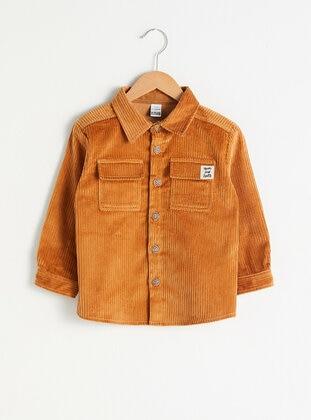 Brown - baby shirts - LC WAIKIKI