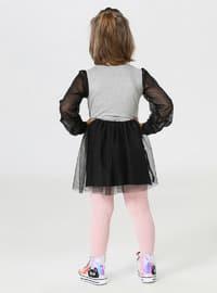Multi - Crew neck - Multi - Girls` Dress