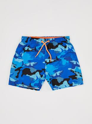 Blue - Boys` Swimsuit