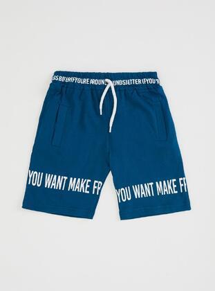 Turquoise - Boys` Shorts