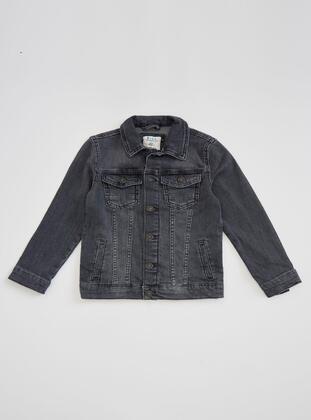 Gray - Boys` Jacket