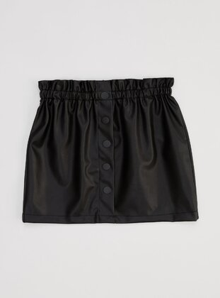 Black - Girls` Skirt - DeFacto