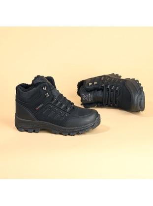 Black - Boys` Boots - Ayakland