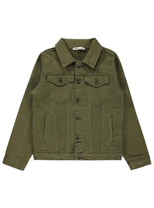 Khaki - Boys` Jacket - Civil