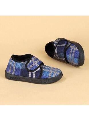 Navy Blue - Boys` Slippers